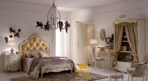 Set Kamar Tidur Klasik Modern Italian SKT-039 DF