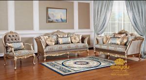 Set Sofa Tamu Klasik Modern Turkey SSRT-073 DF