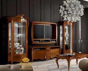 Bufet Tv Minimalis Jati Mebel Jepara BTV-021 DF