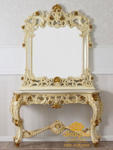 Meja Konsol Klasik Mewah Baroque Jepara MK-023 DF