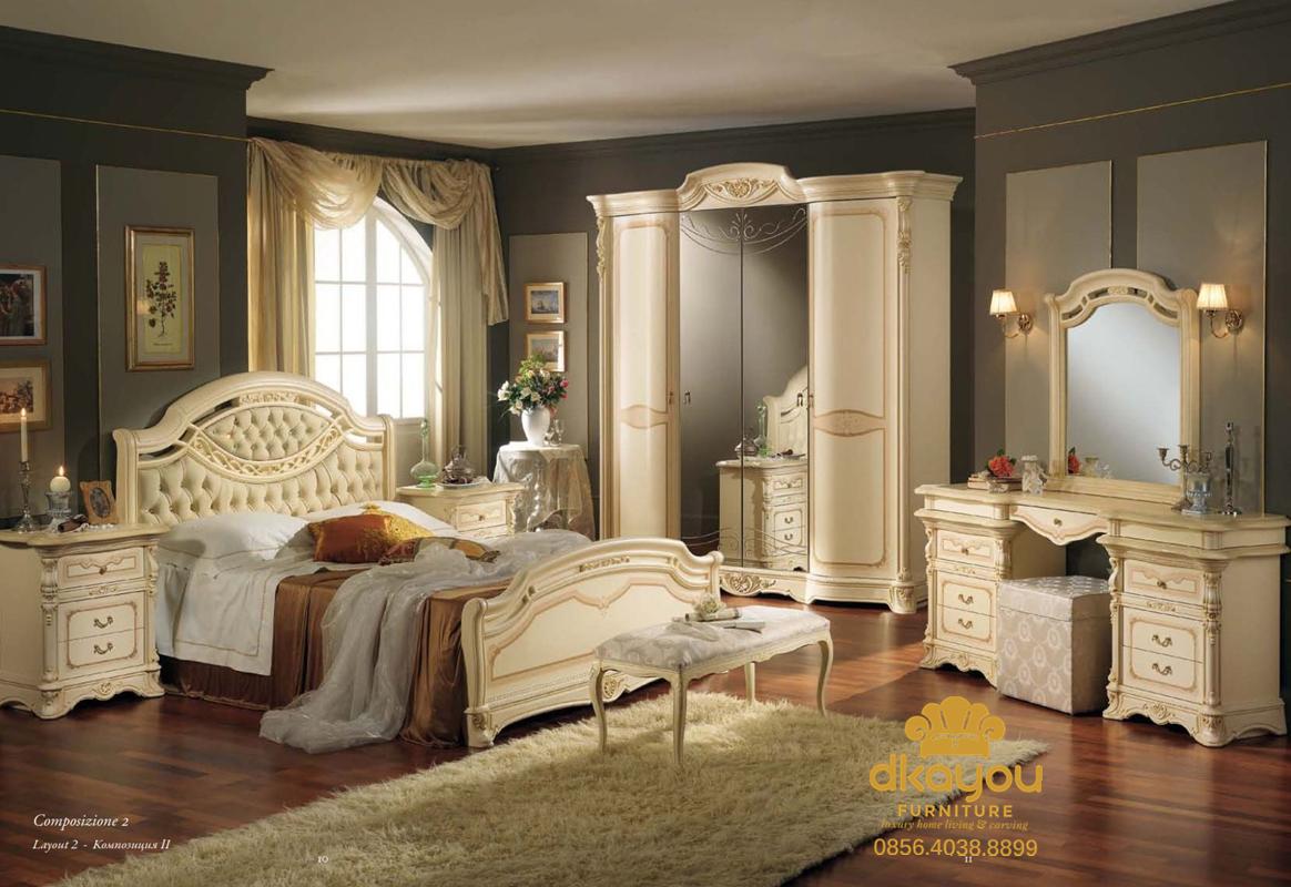 Set Kamar Tidur Minimalis Modern Duco