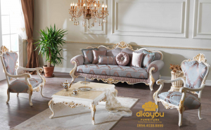 Set Sofa Tamu Klasik Turkey Efsun SSRT-078 DF