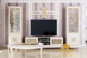 Set Bufet Meja Cabinet Tv Minimalis Modern BTV-030 DF