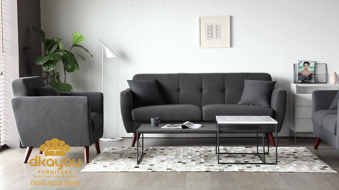 Sofa Tamu Minimalis Retro