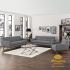 Sofa Retro Scandinavian Set Ruang Tamu Minimalis SSRT-082 DF