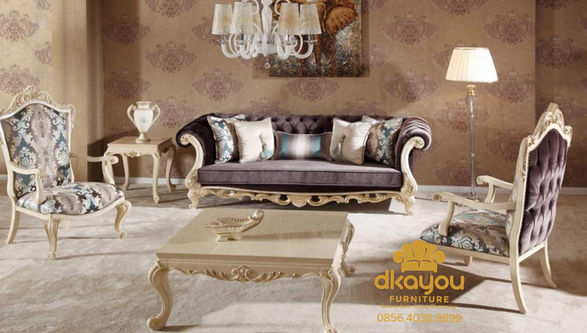 sofa tamu modern turkey style