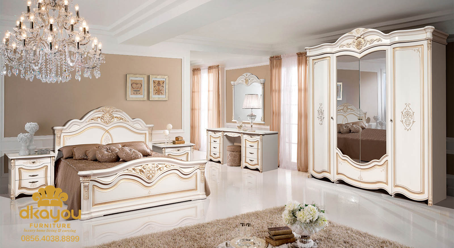 foto 1 set kamar tidur minimalis