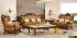 Set Sofa Tamu Mewah Klasik Kayu Jati Jepara SSRT-098 DF