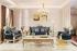 Set Sofa Tamu Mewah Modern Duco Putih SSRT-096 DF