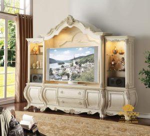 Bufet Tv Mewah Klasik Victorian Duco BTV-038 DF