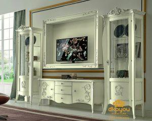 Meja Bufet Tv Duco Mewah Victorian BTV-037 DF