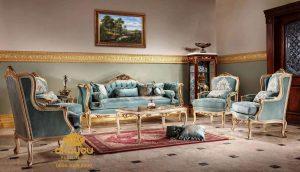 Sofa Mewah Klasik Eropa Terbaru SST-127 DF