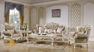Set Sofa Tamu Mewah Duco Victorian Modern SSRT-134 DF