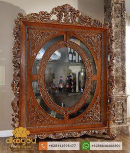 Lemari Hias Mewah Modern Klasik Furniture AH017