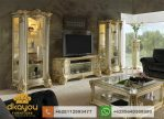 Set Buffet Tv Klasik Mewah Duco BTV044