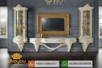 Set Buffet Tv Mewah Klasik Italian Luxury BTV048