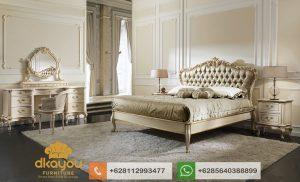 Set Kamar Tidur Mewah Classic Duco Italian Furniture SKT076