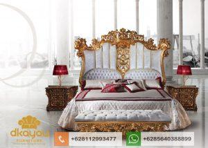 Set Kamar Tidur Mewah Klasik Luxury Cassic Bedroom SKT078