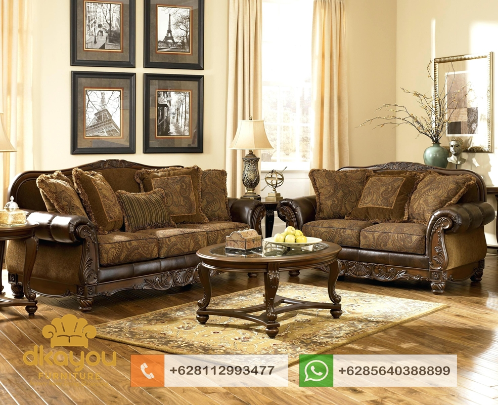 model sofa jati terbaru