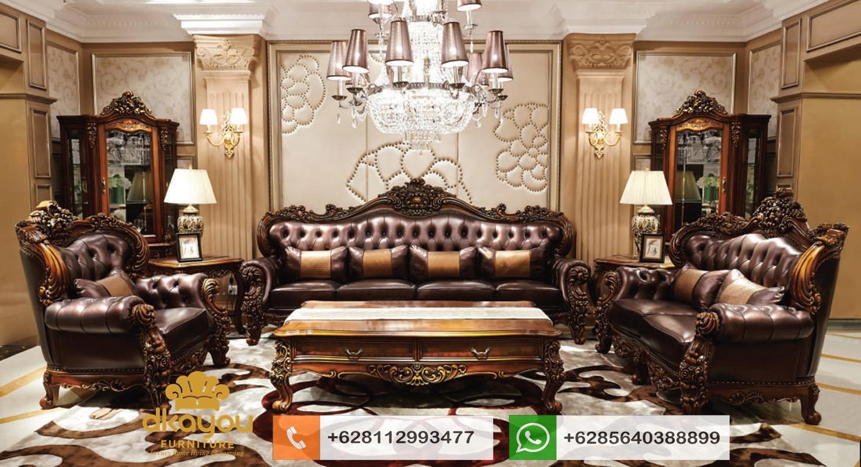 mebel sofa klasik ukir jati mewah jepara