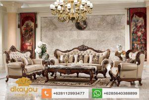 Set Sofa Tamu Mewah Classic Ukir Jati Jepara SSRT179