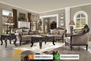Set Sofa Tamu Mewah Klasik Furniture Ukir Jepara SSRT170