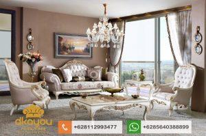 Set Sofa Tamu Mewah Klasik Mebel Jepara Koltuk Takimi SSRT164