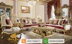 Set Sofa Tamu Mewah Klasik Royal Italian Furniture Gold SSRT173