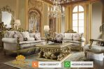 Set Sofa Tamu Mewah Classic Luxury Furniture Gold SSRT195