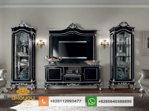 Set Bufet Tv Mewah Klasik Italian Luxury Terbaru BTV051
