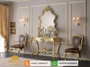 Meja Console Mewah Klasik Luxury Italian Furniture Terbaru MK048