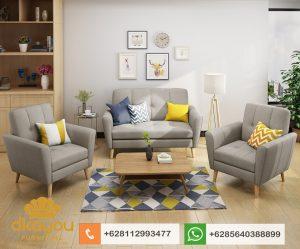 Kursi Tamu Minimalis Set Sofa Retro Terbaru SSRT208