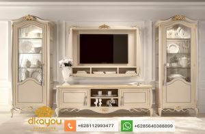 Set Bufet Tv Mewah Klasik Modern Terbaru BTV054