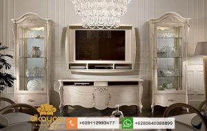 Set Bufet Tv Klasik Modern Luxury Italian Furniture BTV053