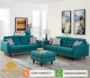 Set Sofa Minimalis Retro Terbaru Mebel Kursi Tamu Jepara SSRT210