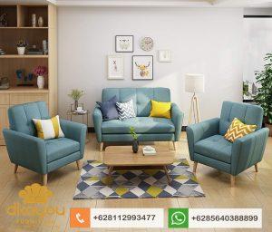 Sofa Retro Terbaru Set Sofa Minimalis SSRT214