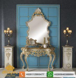 Meja Console Classic Luxury Italian Furniture Baroque MK053