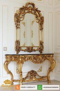 Meja Konsul Mewah Klasik Eropa Italian Baroque Table MK055