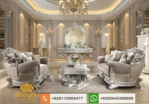 Set Sofa Mewah Klasik Italian Royale Dubai Terbaru SSRT216