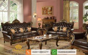 Sofa Tamu Jati Mewah Klasik Mebel Kursi Jepara Terbaru SSRT215