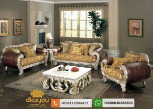 Sofa Mewah Terbaru Mebel Kursi Tamu Klasik Modern SSRT222