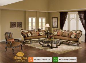 Sofa Tamu Jati Classic European Terbaru Furniture Jepara SSRT223
