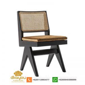 Kursi Cafe Terbaru Pierre Jeanneret Dining Chair KS017