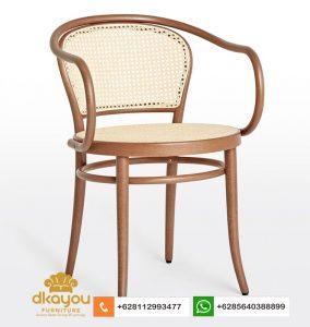 Kursi Cafe Terbaru Rotan Dining Chair KS018