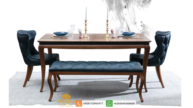 model meja makan modern