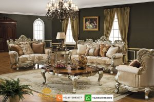 Set Sofa Mewah Klasik Terbaru Victorian SSRT240