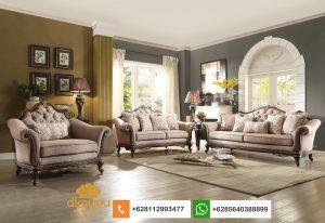 Set Sofa Klasik Modern Terbaru American Livingroom SSRT242