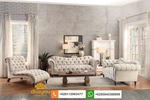 Set Sofa Tamu Modern Chesterfield American Classic Furniture SSRT249
