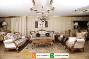 Set Sofa Mewah Klasik Romawi SSRT254