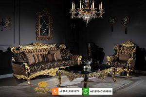 Set Sofa Mewah Romawi Classic Goldleaf SSRT255